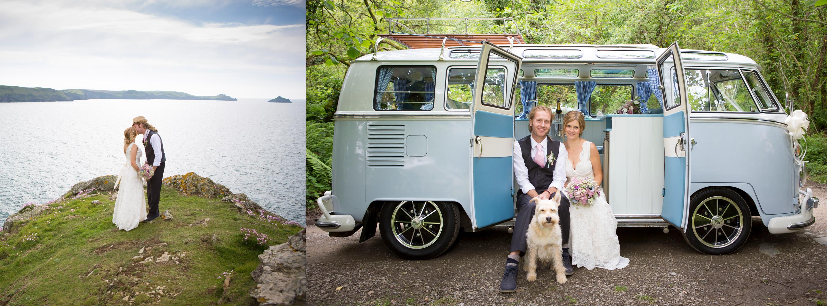 Woodland Elopement Port Quin