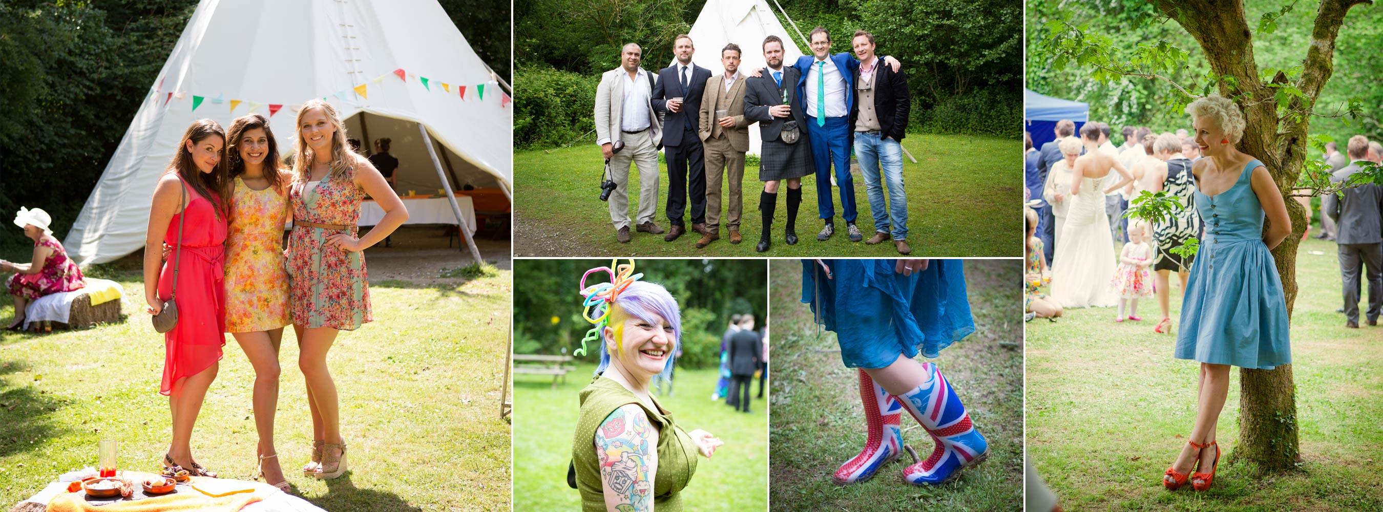 Wedding Guests - what to wear, patriotic floral to vintage