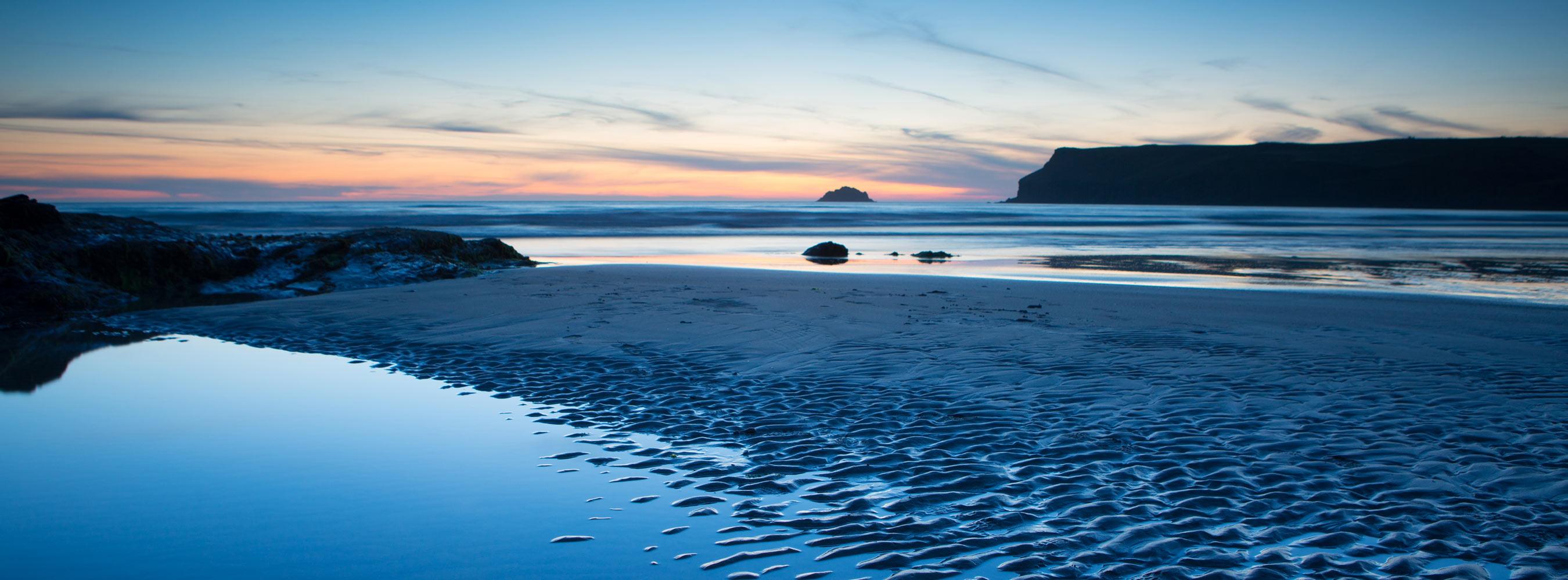 Polzeath Beach Sunet