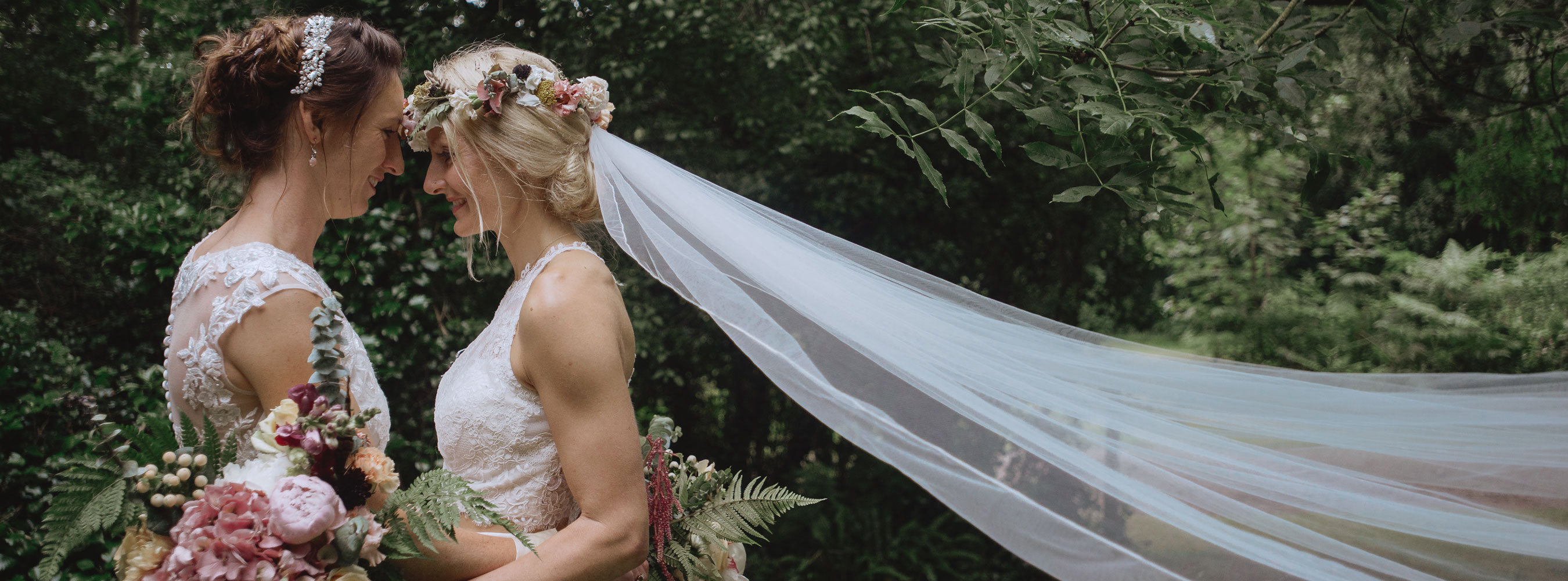 Gay Woodland Wedding